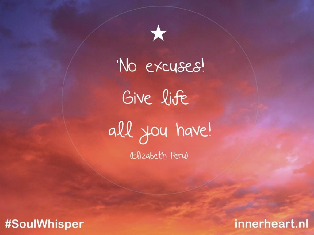 soulwhisper - no excuses
