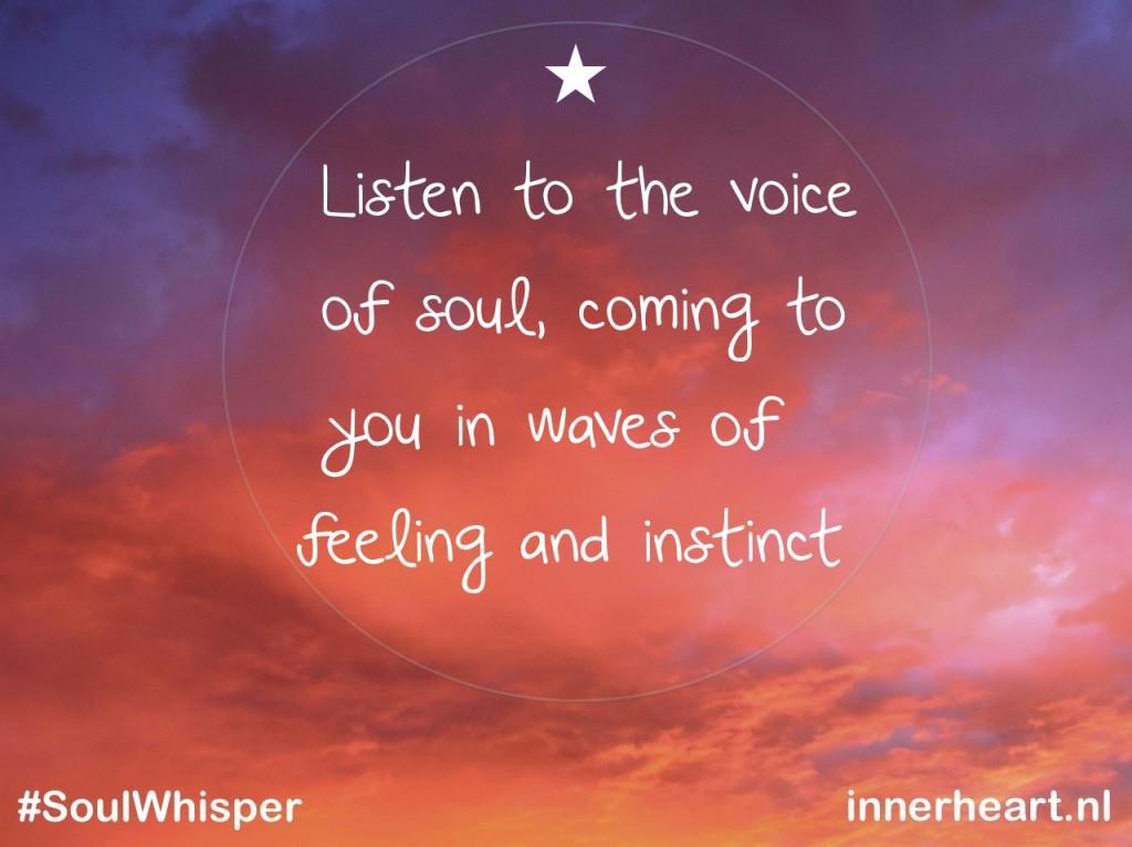 soulwhisper voice of soul