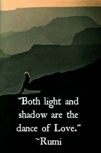 light and shadow rumi